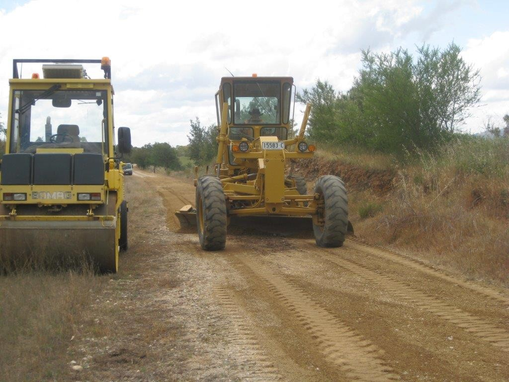 Upgrading the trail surface from Ludlows to Huon